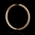 9.50ct Diamond 18k Rose Gold Hoop Earrings