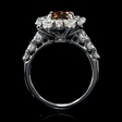 3.32cts Diamond 14k White Gold Ring
