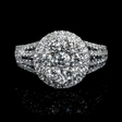 1.80cts Diamond 18k White Gold Ring