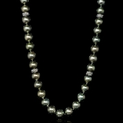 Diamond and Tahitian Pearl 18k White Gold Necklace