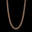 7.80cts Diamond 14k Rose Gold Necklace