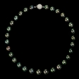 Tahitian Pearl 18k White Gold Necklace