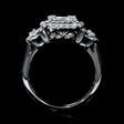 1.02ct Diamond 18k White Gold Ring