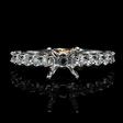 .59ct Diamond 18k Two Tone Gold  Engagement Ring Setting