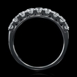 1.00cts Diamond 18k White Gold Wedding Band Ring