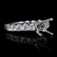 .88ct Diamond 18k White Gold Engagement Ring Setting