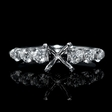 .59ct Diamond 18k White Gold Engagement Ring Setting