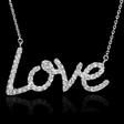 .50ct Diamond 14k White Gold Pendant Necklace
