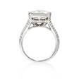 3.41ct Simon G Diamond 18k White Gold Ring