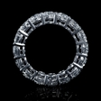 5.00cts Diamond Platinum Eternity Wedding Band Ring