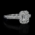1.39ct Diamond 14k White Gold Ring