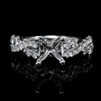 .69ct Diamond 18k White Gold Engagement Ring Setting