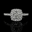 1.67ct Diamond 14k White Gold Ring