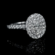 .99ct Diamond 14k White Gold Ring