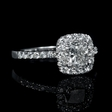1.45ct Diamond 14k White Gold Ring