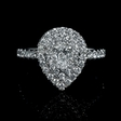 1.01ct Diamond 14k White Gold Ring