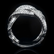 2.16cts Diamond 18k White Gold Ring