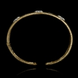 .47ct Diamond 18k Yellow and White Gold Bracelet