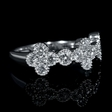 1.14cts Diamond 18k White Gold Ring