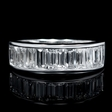 1.49cts Diamond 18k White Gold Ring