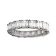 6.84ct Diamond Platinum Eternity Wedding Band Ring