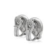 1.16ct Leo Pizzo Diamond 18k White Gold Earrings