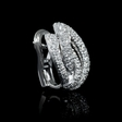 1.67ct Leo Pizzo Diamond 18k White Gold Earrings