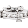 3.28ct Diamond 18k White Gold Bracelet