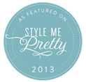 As Featured on StyleMePretty