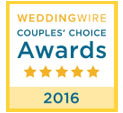 WeddingWire Couples' Choice Award 2014