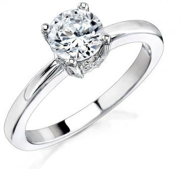 engagement ring, diamond
