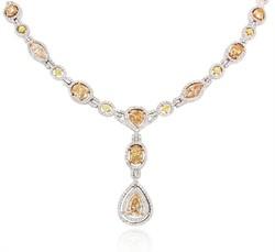 Diamond White Gold Necklace