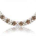 Leo Pizzo Diamond 18k White Gold Necklace