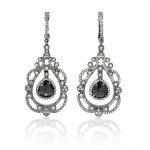 MK-Diamond-18k-White-Gold-and-Black-Rhodium-Dangle-Earrings
