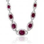 Diamond-and-Ruby-18k-White-Gold-Necklace