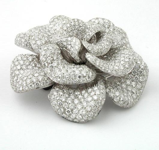 Michelle Obama Diamond Brooch Pin