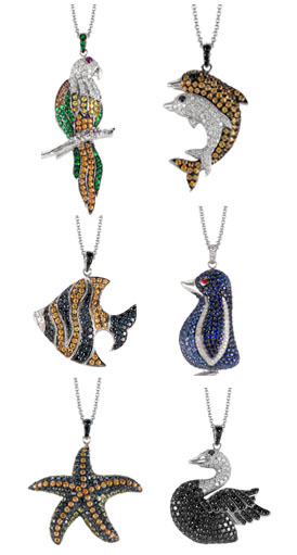 simon-g-animal-diamond-pendants
