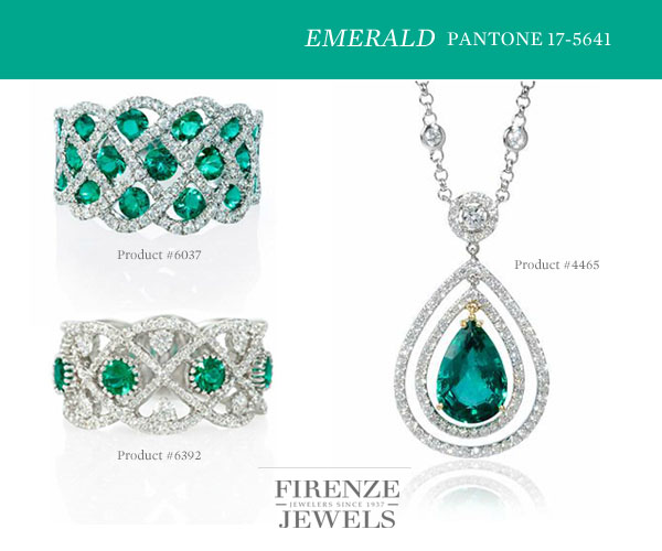 Pantone Emerald 17-5641 Color of the Year