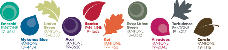 Pantone Fall 2013 Color Report Jewelry