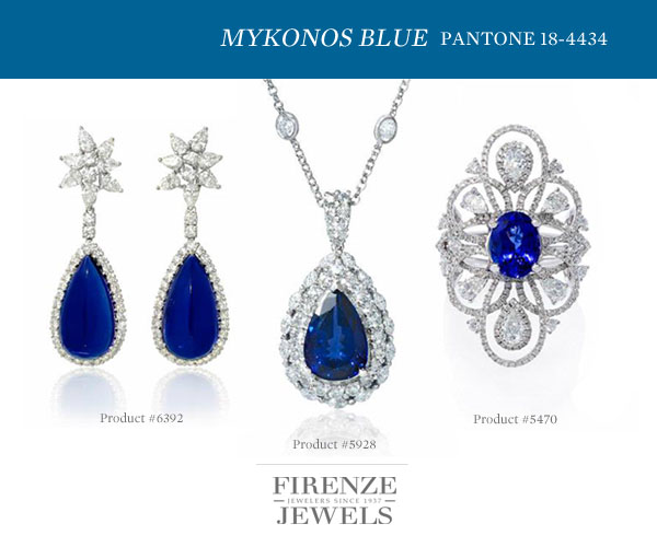 Pantone Mykonos Blue 18-4434