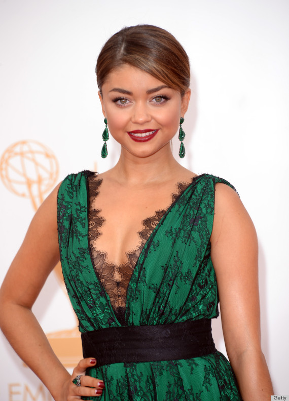 2013 Emmys Sarah Hyland Earrings