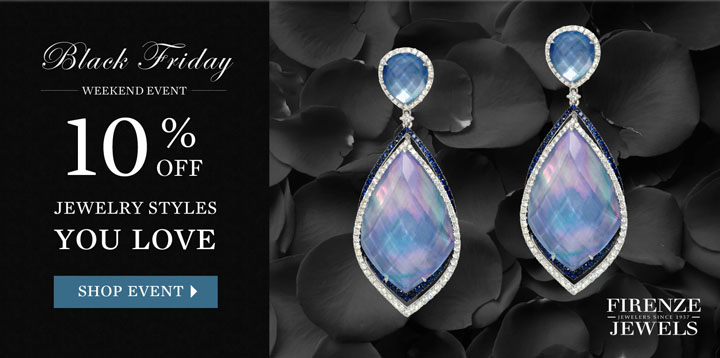 Black Friday Weekend Event - 10% Off all fine diamond jewelry