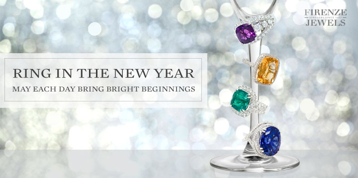 Ring in the New Year - May Each Day Bring Bright Beginnings