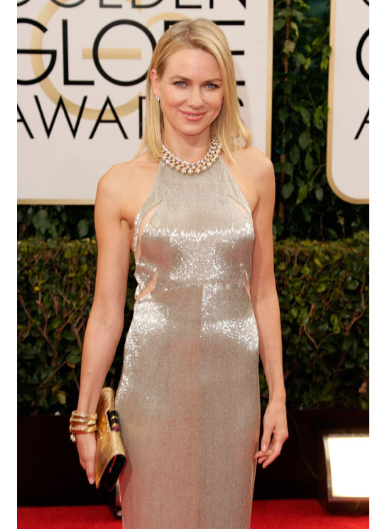 golden globes 2014 naomi watts serpent bangle