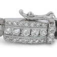 3.41ct Diamond 18k White Gold Bracelet