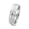 .36ct Men's Diamond 18k White Gold Wedding Band Ring