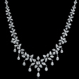 30.02ct Diamond Platinum Necklace
