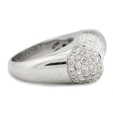 5.66ct Diamond 18k White Gold Ring