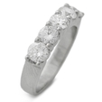1.64ct Diamond Platinum Wedding Band Ring