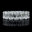 10.63cts Diamond Platinum Eternity Wedding Band Ring